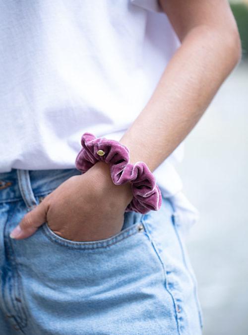 artisanne chouchou rose porte 1