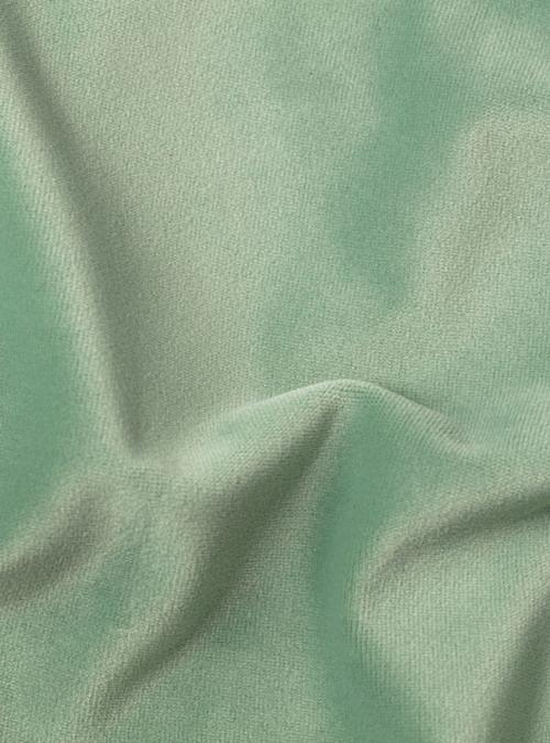 artisanne velours vert eau