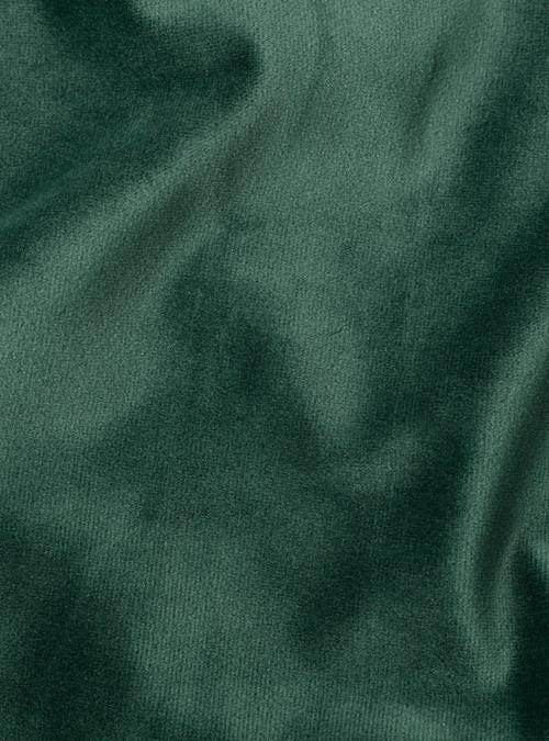 artisanne velours vert sapin