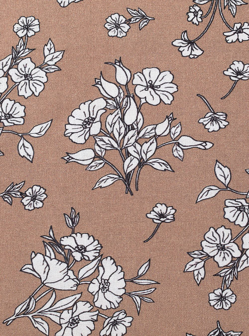 artisanne interieur fleurs rose